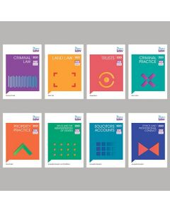 Bundle of 8 study manuals: FLK2 – Functioning Legal Knowledge 2