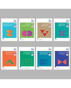 Bundle of 8 study manuals: Professional Practice